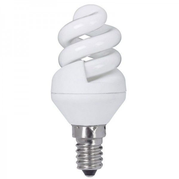 Paulmann Energiesparlampe Spirale 5W E14 Warmweiß