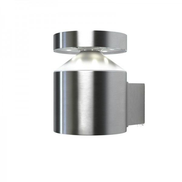 Osram LED Wandleuchte Endura Style Zylinder 6W/830 360lm warmweiß nicht dimmbar steel IP44