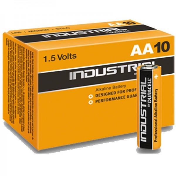 Duracell Batterie Industrial AA (10 Stück)
