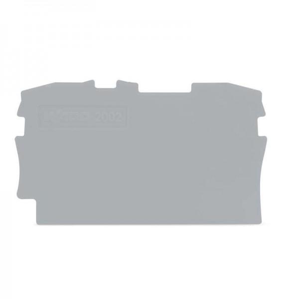 Wago Abschluss- und Zwischenplatte 2002-1291 (1 Stück)