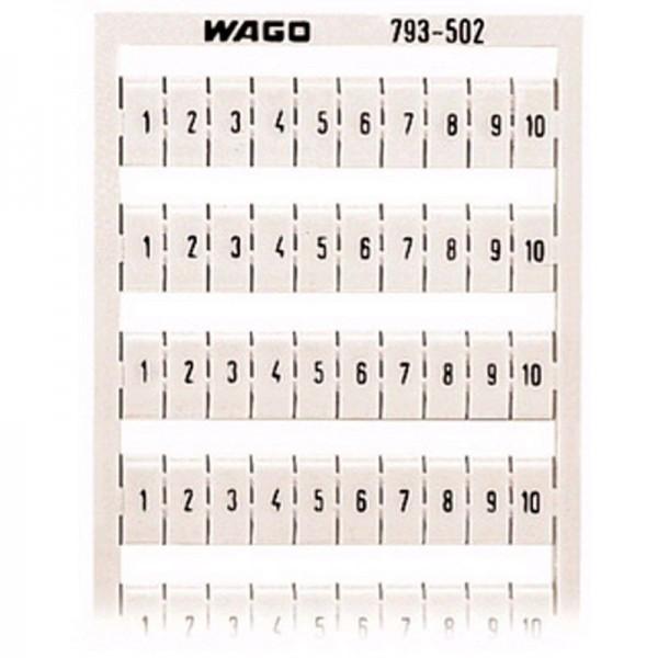 Wago WMB-Multibeschriftungssystem 793-502 (1 Stück)