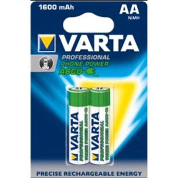 SONDERPOSTEN - Varta Phone Akku AA 58399 1600mAh 2er Blister