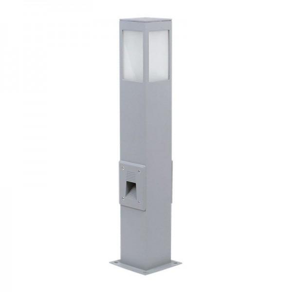SONDERPOSTEN - I-Light Außenlampe IP 44 60cm Quader Silber