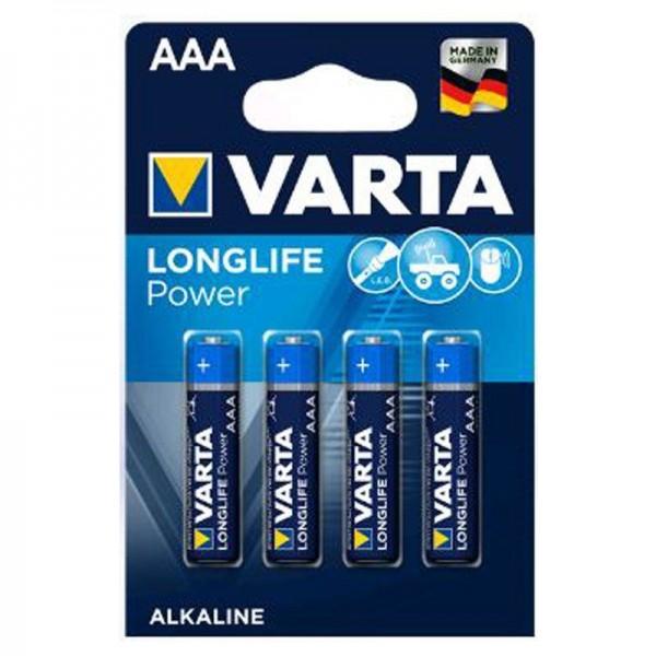 Varta Batterien Longlife Power 4903 AAA 4er Blister