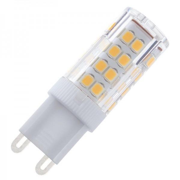Modee LED Ceramic 5-35W/827 G9 420lm echt warmweiß nicht dimmbar Stiftsockellampe 360° weiß 25000h ersetzt 35W (ersetzt Osram/Philips G9 Halogen)