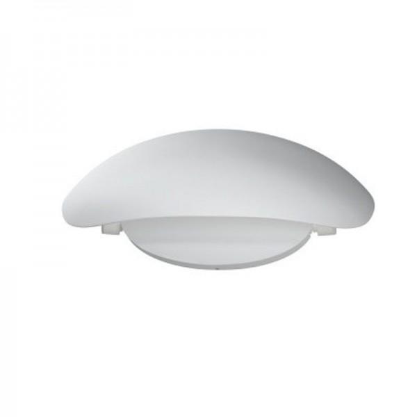 Osram LED Wandleuchte Endura Style Cover Oval 11,5W/830 355lm warmweiß nicht dimmbar weiß IP44