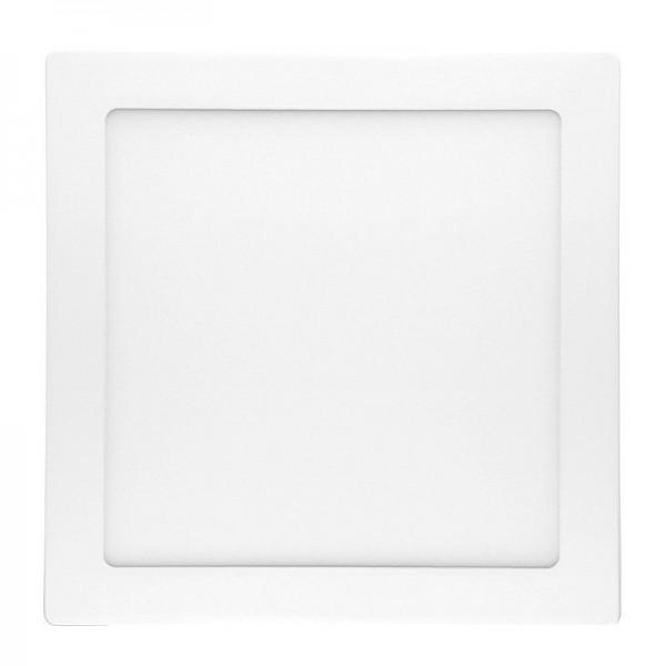 Modee LED Einbauleuchte quadratisch 18W/727 warmweiß (Aufputzmontage)