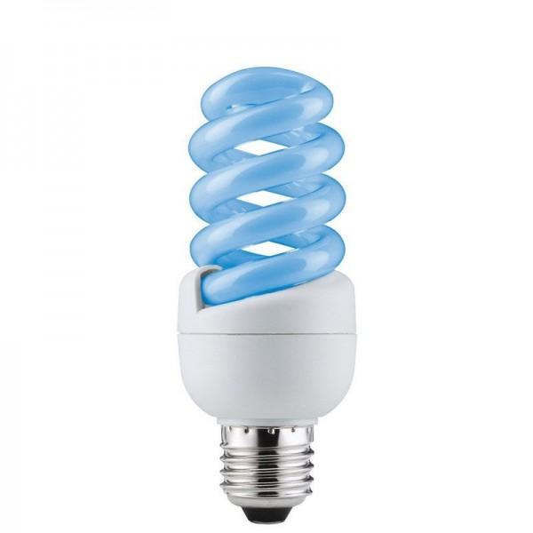 Paulmann Energiesparlampe Spirale 15W E27 Blau