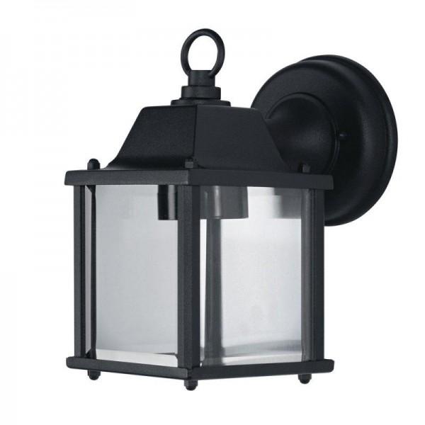 Osram LED Wandleuchte Endura Classic Lantern Square S max 60W nicht dimmbar schwarz IP23