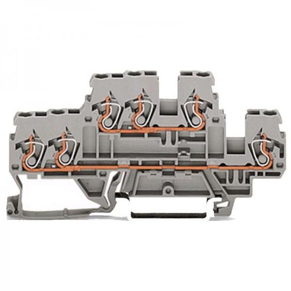 Wago 3-Leiter-Doppelstockklemme 870-531 (1 Stück)