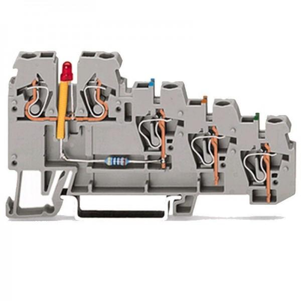 Wago 4-Leiter-Initiatoren-LED-Klemme 270-570/281-434 (1 Stück)