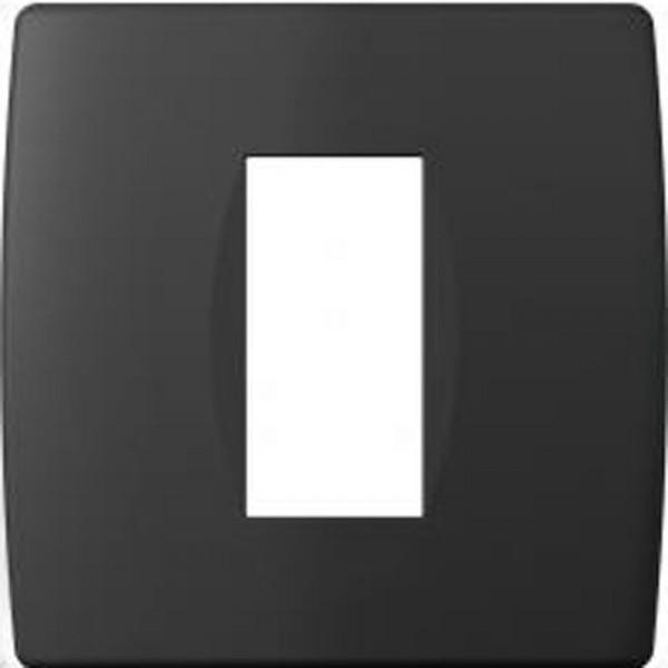 SONDERPOSTEN - TEM RAHMEN SOFT 1/2M OS10SB Schwarz-Matt