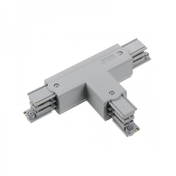 T-Verbinder mit Einspeisemöglichkeit XTS 40 grau Null innen und links