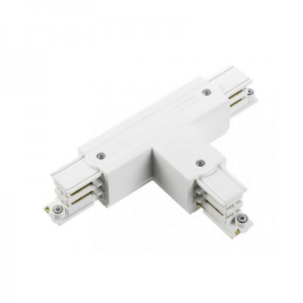 T-Verbinder mit Einspeisemöglichkeit XTS 37 weiß Null innen und rechts