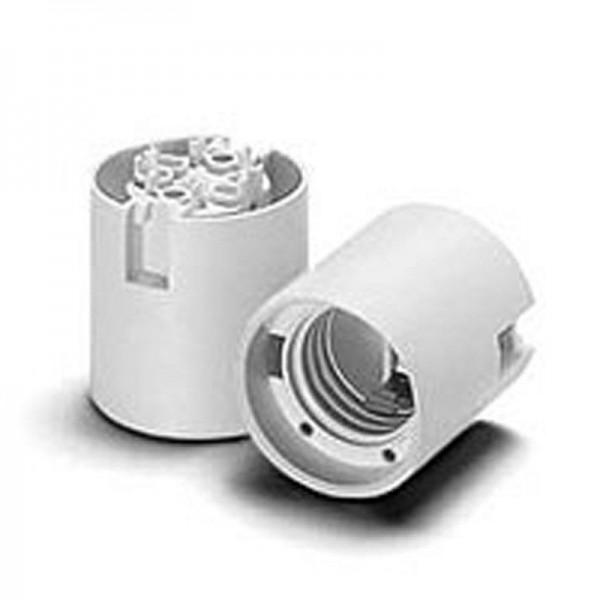 Houben Thermoplast Fassung E27 einteilig T210 weiß