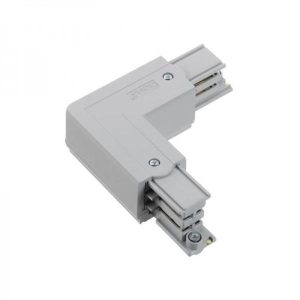 Winkelverbinder mit Einspeisemöglichkeit XTS 35 grau rechts