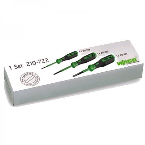 Wago Betätigungswerkzeug-Set mit teilisoliertem Schaft 210-722 (1 Stück)