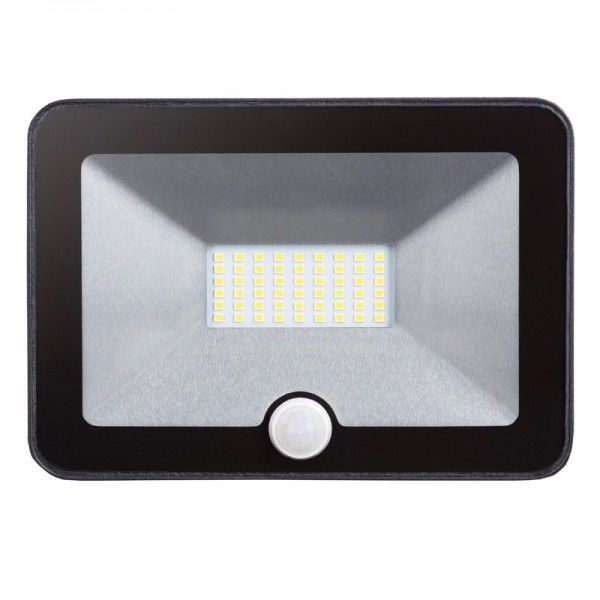 Modee LED Floodlight Ultra Slim mit Bewegungsmelder 20W/740 neutralweiß