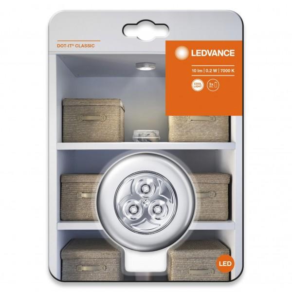 LEDVANCE DOT-IT Classic Silber/Silver 80142 SI
