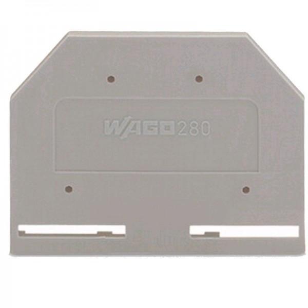 Wago Abschluss- und Zwischenplatte 280-301 (1 Stück)