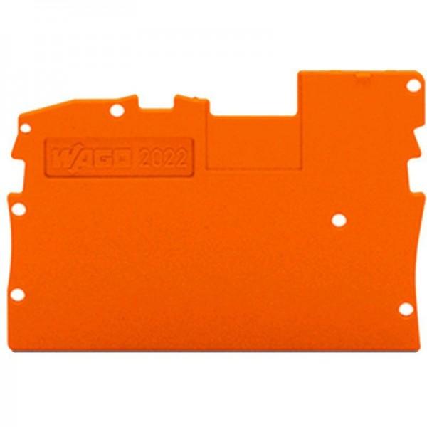 Wago Abschluss- und Zwischenplatte 2022-1292 (1 Stück)