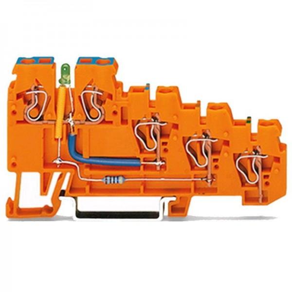 Wago 4-Leiter-Initiatoren-LED-Einspeiseklemme 270-574/281-483 (1 Stück)