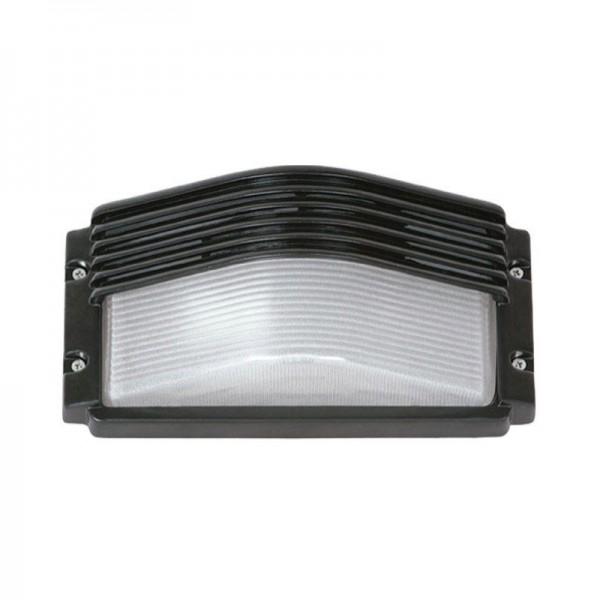 SONDERPOSTEN - I-Light Wandleuchte Rechteckig Weiß, IP 54 E27