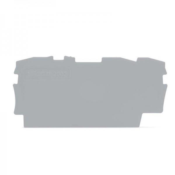 Wago Abschluss- und Zwischenplatte 2002-1391 (1 Stück)