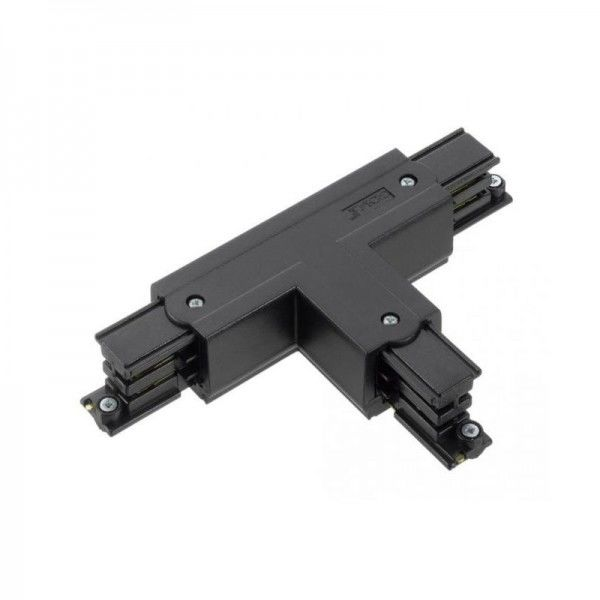 T-Verbinder mit Einspeisemöglichkeit XTS 37 schwarz Null innen und rechts
