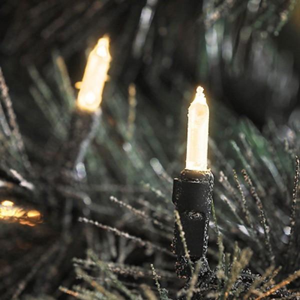 SONDERPOSTEN - Konstsmide LED Minilichterkette inkl. Außentrafo mit 120 Dioden Gesamtlänge 2585cm wa