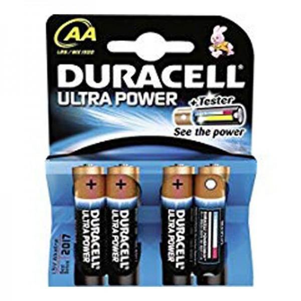 Duracell Batterien Ultra Power DUPAA AA 4er Blister
