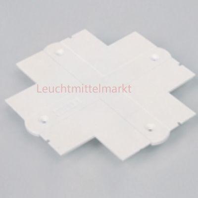 Abdeckplatte für Winkelverbinder/T-Verbinder/Kreuzverbinder weiß