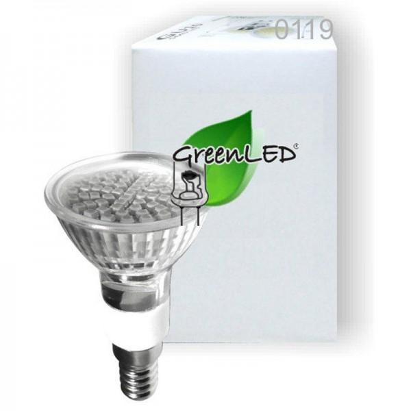 SONDERPOSTEN - GreenLED 2.8W E14 120° weiss ES1460 0119