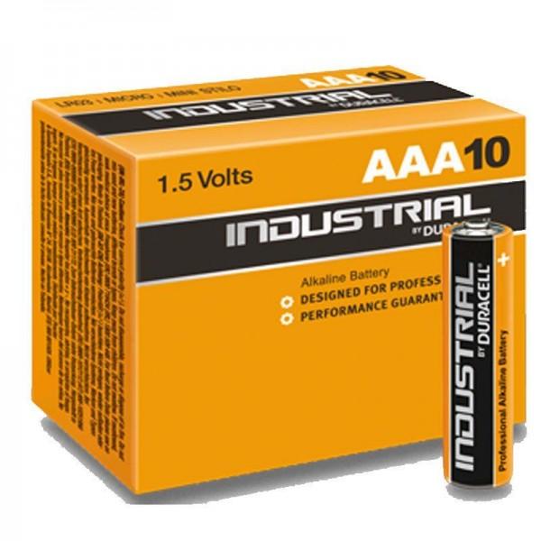 Duracell Batterie Industrial AAA (10 Stück)