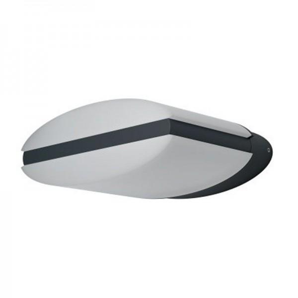 Osram LED Wandleuchte Endura Style Ellipse 12,5W/830 890lm warmweiß nicht dimmbar dunkelgrau IP44
