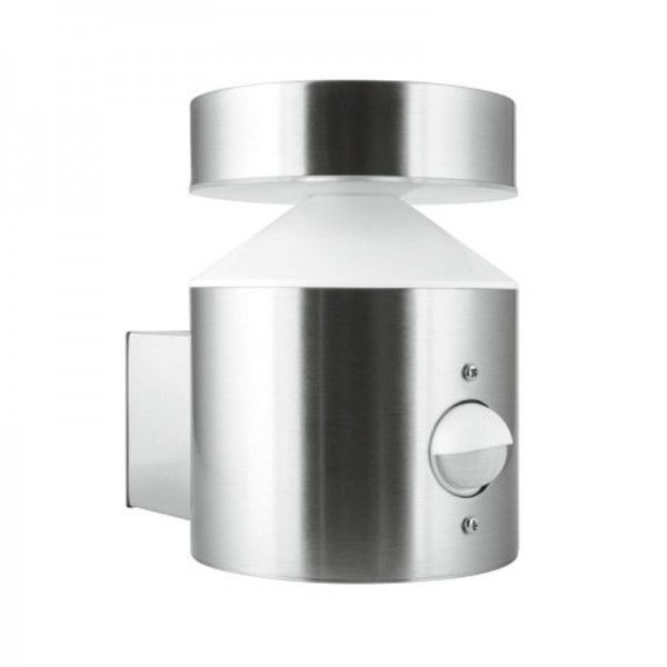 Ledvance Outdoor Facade Pole 6W/3000K Steel Sensor IP44 360lm neutralweiß
