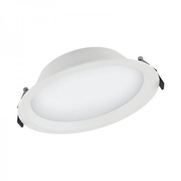 LEDvance LED Downlight Alu D200 Dali 35W/830 2975lm weiß IP44 warmweiß dimmbar 100°