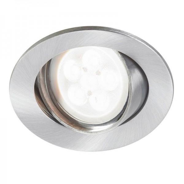 Sylvania LED Inset Trend Swing 6W/840 GU10 36° 345lm neutralweiß dimmbar silber
