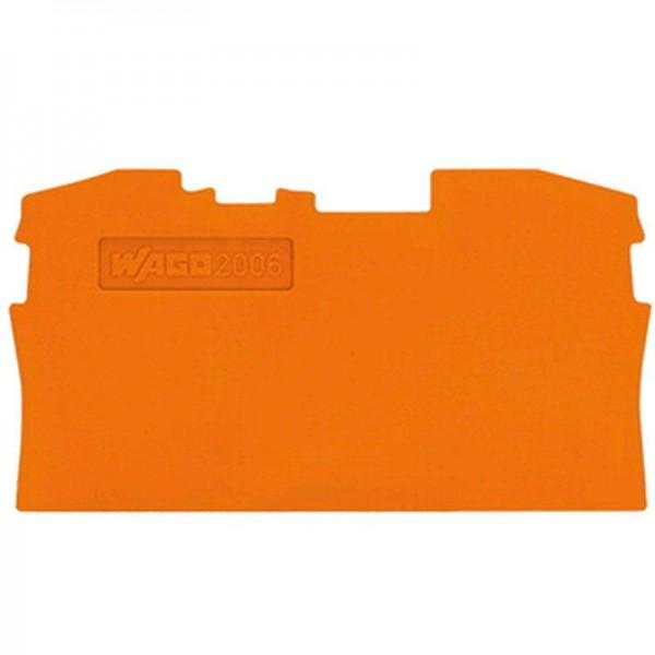 Wago Abschluss- und Zwischenplatte 2006-1292 (1 Stück)