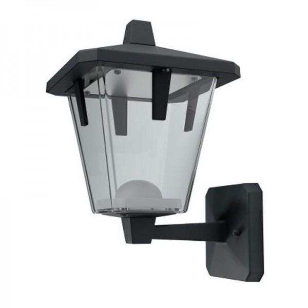 Osram LED Wandleuchte Endura Style Lantern Classic Up 11,5W/830 550lm warmweiß nicht dimmbar schwarz IP44