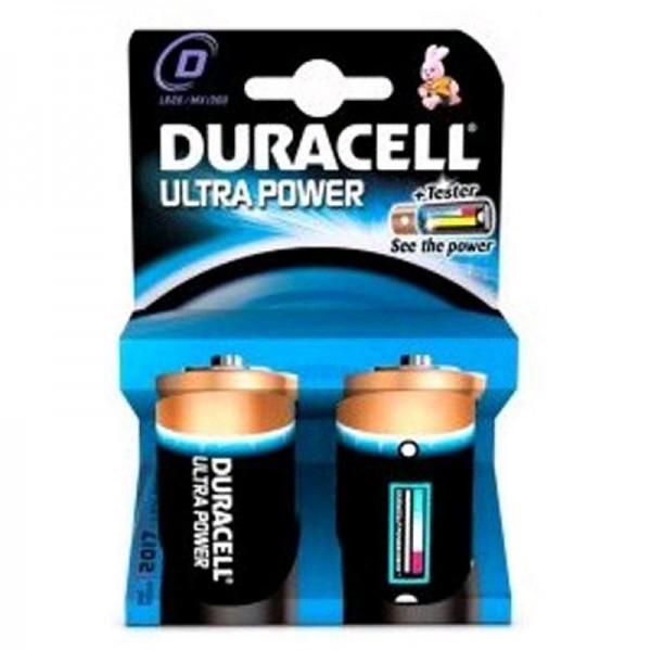 Duracell Batterien Ultra Power DUPD D 2er Blister