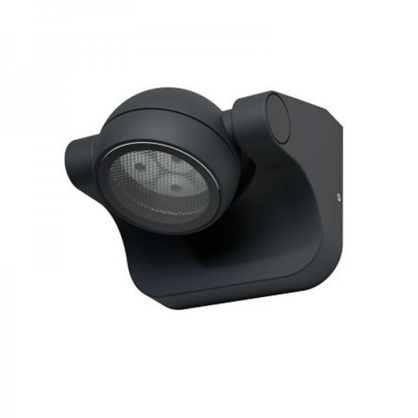 Osram LED Wandleuchte Endura Style Hemisphere 6W/830 360lm warmweiß nicht dimmbar dunkelgrau IP44