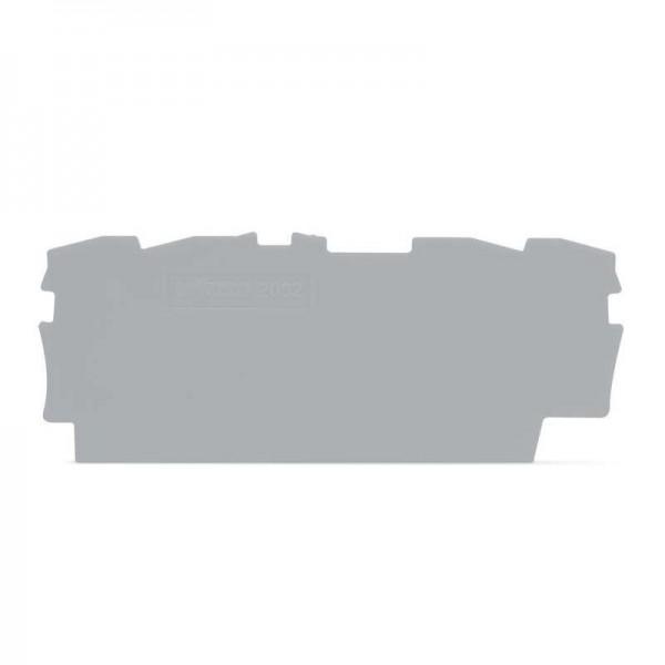Wago Abschluss- und Zwischenplatte 2002-1491 (1 Stück)