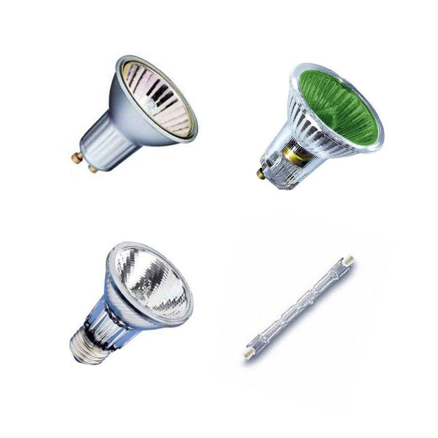 Hochvolt-Halogenlampen