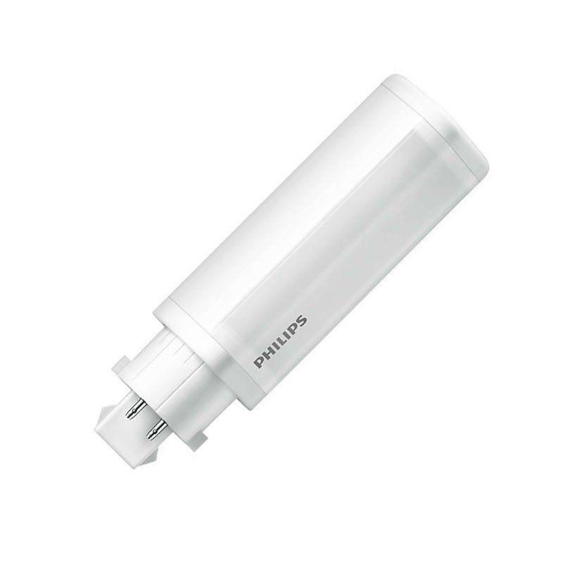 PHILIPS LED 6,5W 840 ersetzt 18W PL-C 2P Dulux D G24d-2 kaltweiß CorePro TC-D
