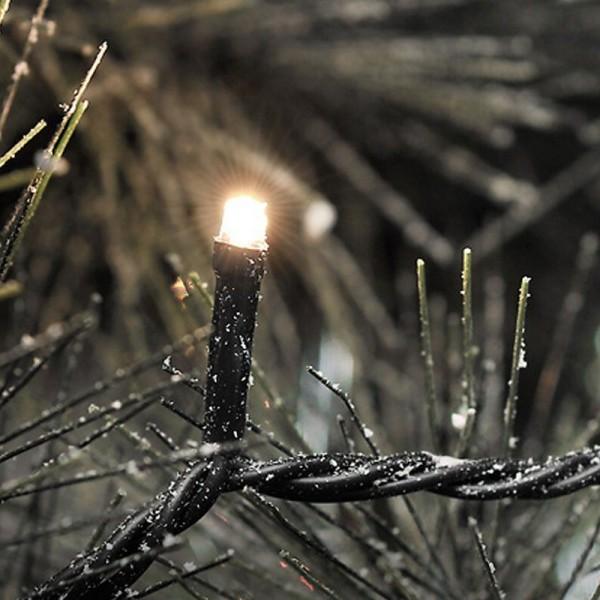 SONDERPOSTEN - Konstsmide Micro LED Lichterkette inkl. Außentrafo mit 200 Dioden Gesamtlänge 4184cm