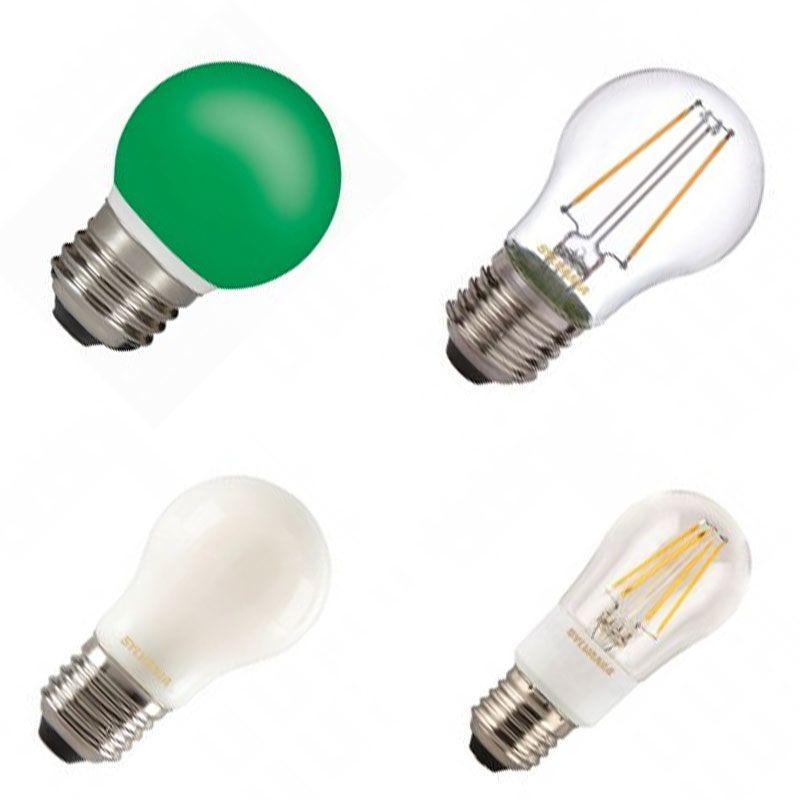 E27 Tropfenlampen