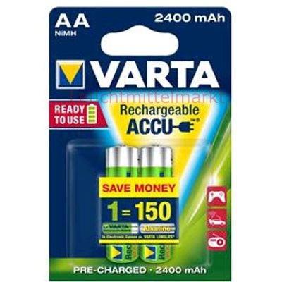 Varta Akku Ready2Use AA 56756 2400mAh 2er Blister