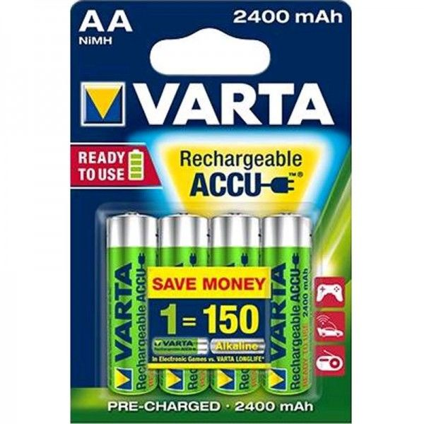 Varta Akku Ready2Use AA 56756 2400mAh 4er Blister