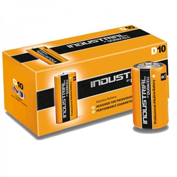Duracell Batterie Industrial D (10 Stück)